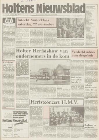 Holtens Nieuwsblad 1986-10-16
