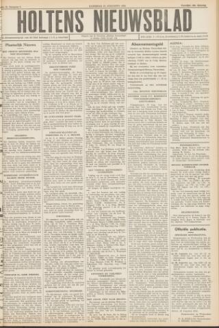 Holtens Nieuwsblad 1952-08-23