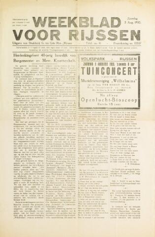 Weekblad voor Rijssen 1935-08-03