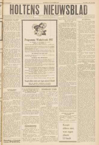 Holtens Nieuwsblad 1957-11-23