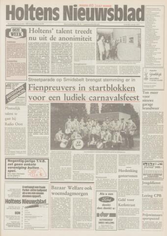 Holtens Nieuwsblad 1989-11-09