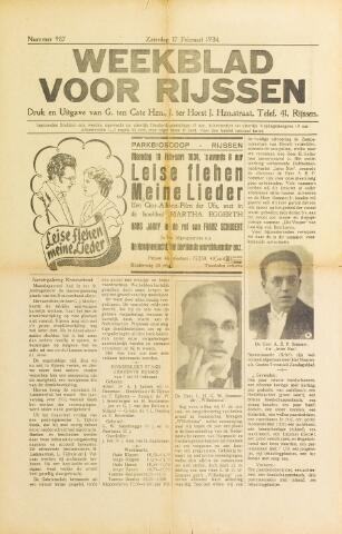 Weekblad voor Rijssen 1934-02-17