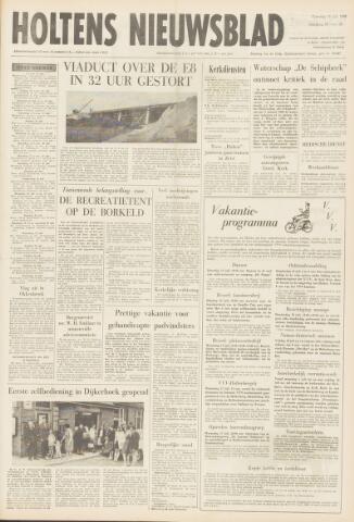 Holtens Nieuwsblad 1968-07-13