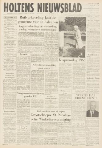 Holtens Nieuwsblad 1968-11-02