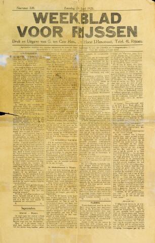 Weekblad voor Rijssen 1925-01-24