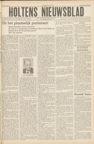 Holtens Nieuwsblad 1954-06-19