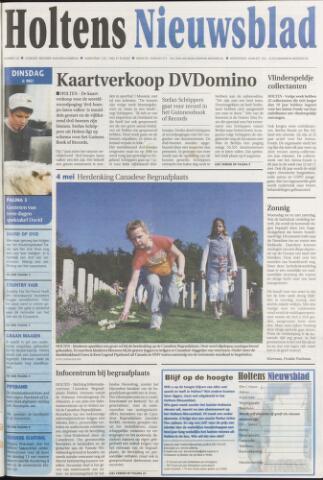 Holtens Nieuwsblad 2008-05-06