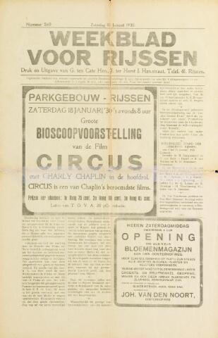 Weekblad voor Rijssen 1930-01-18