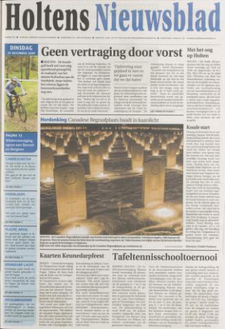 Holtens Nieuwsblad 2009-12-29
