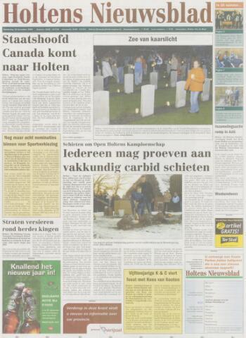 Holtens Nieuwsblad 2004-12-30