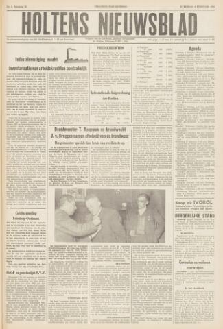 Holtens Nieuwsblad 1960-02-06
