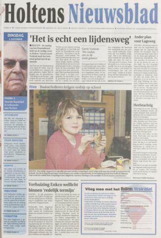 Holtens Nieuwsblad 2007-11-06