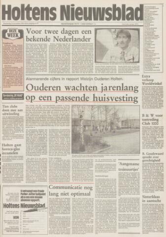 Holtens Nieuwsblad 1991-11-21
