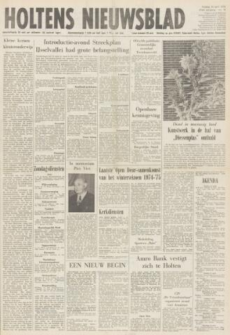 Holtens Nieuwsblad 1975-04-18