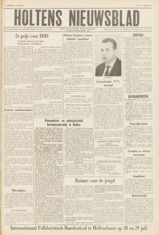 Holtens Nieuwsblad 1961-07-01