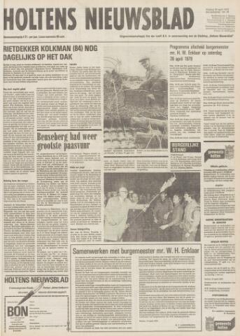 Holtens Nieuwsblad 1979-04-20