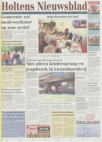 Holtens Nieuwsblad 2003-09-25