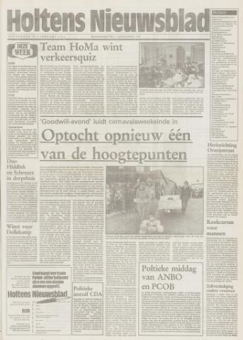 Holtens Nieuwsblad 1994-02-10