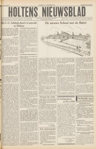 Holtens Nieuwsblad 1954-11-13