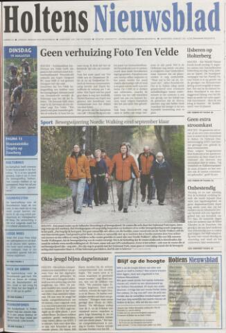 Holtens Nieuwsblad 2008-08-19