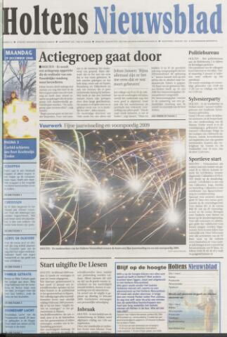 Holtens Nieuwsblad 2008-12-29
