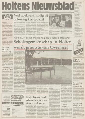 Holtens Nieuwsblad 1991-01-17