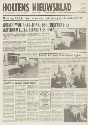 Holtens Nieuwsblad 1981-02-19