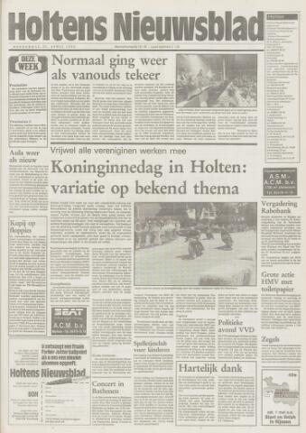 Holtens Nieuwsblad 1993-04-22
