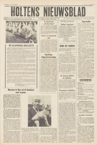 Holtens Nieuwsblad 1966-11-05