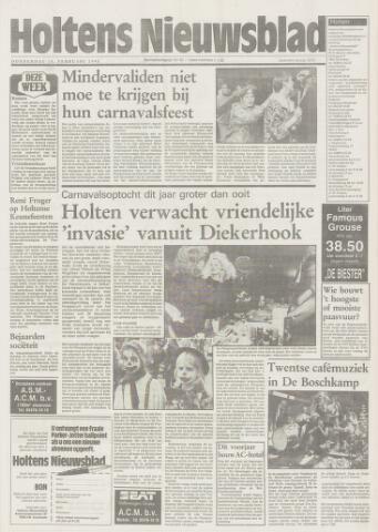 Holtens Nieuwsblad 1993-02-18