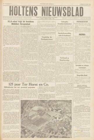 Holtens Nieuwsblad 1960-05-28