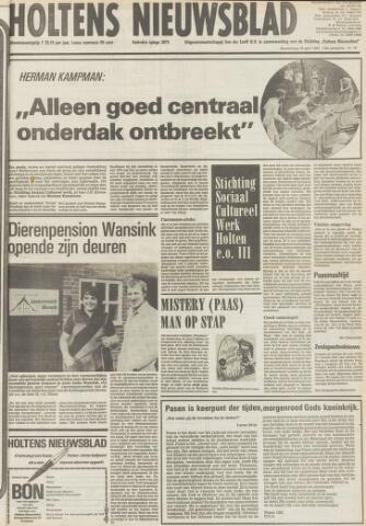Holtens Nieuwsblad 1981-04-16
