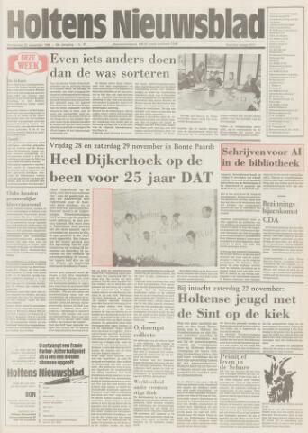 Holtens Nieuwsblad 1986-11-20