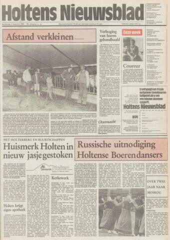 Holtens Nieuwsblad 1984-08-02