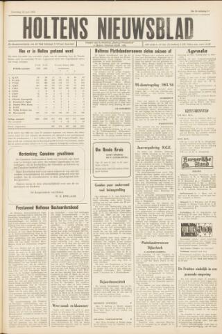 Holtens Nieuwsblad 1963-05-18