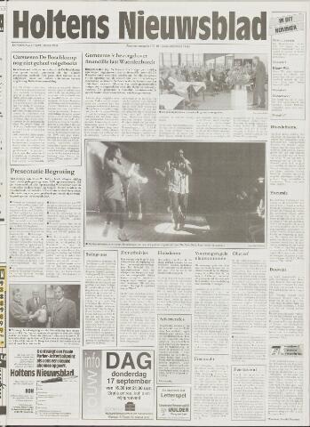 Holtens Nieuwsblad 1998-09-17