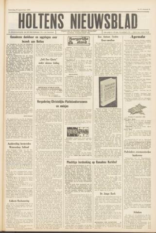 Holtens Nieuwsblad 1964-09-26