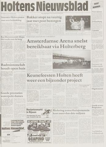 Holtens Nieuwsblad 1996-08-22