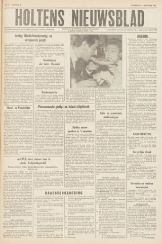 Holtens Nieuwsblad 1961-01-14