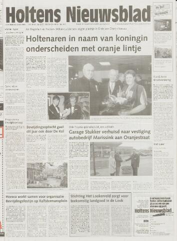Holtens Nieuwsblad 2000-05-04