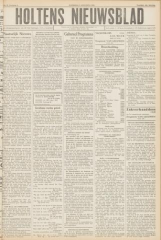 Holtens Nieuwsblad 1952-08-02