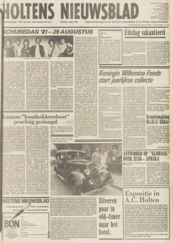 Holtens Nieuwsblad 1981-08-20