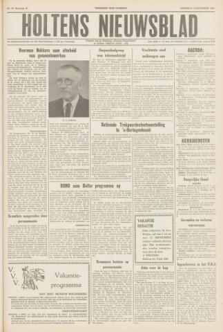 Holtens Nieuwsblad 1960-09-03