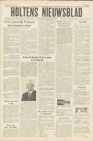 Holtens Nieuwsblad 1965-02-27