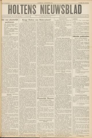 Holtens Nieuwsblad 1951-09-01