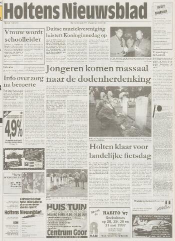 Holtens Nieuwsblad 1997-05-09