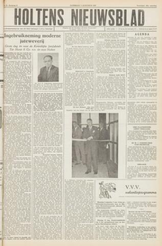 Holtens Nieuwsblad 1957-08-03