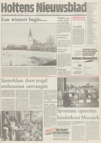 Holtens Nieuwsblad 1985-11-28