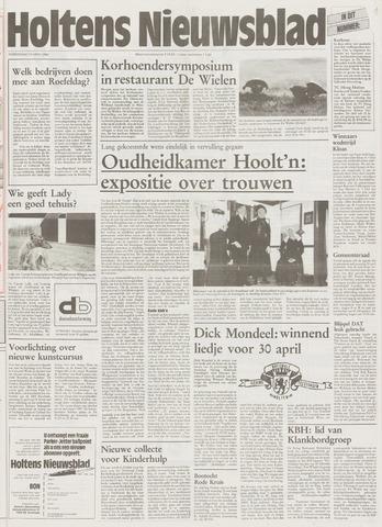 Holtens Nieuwsblad 1996-04-18