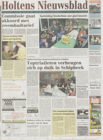 Holtens Nieuwsblad 2002-03-28